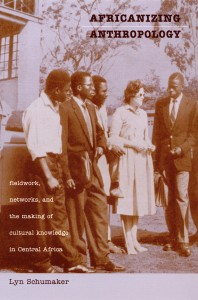 Book cover for Africanizing Anthropology